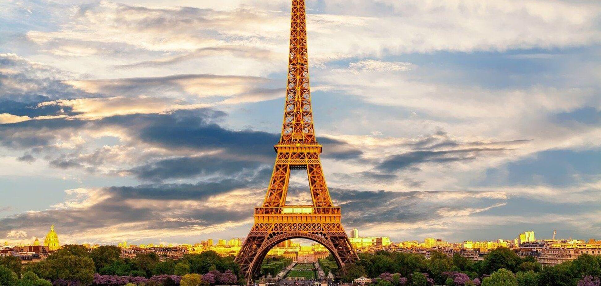 Как выглядел Париж до Эйфелевой башни