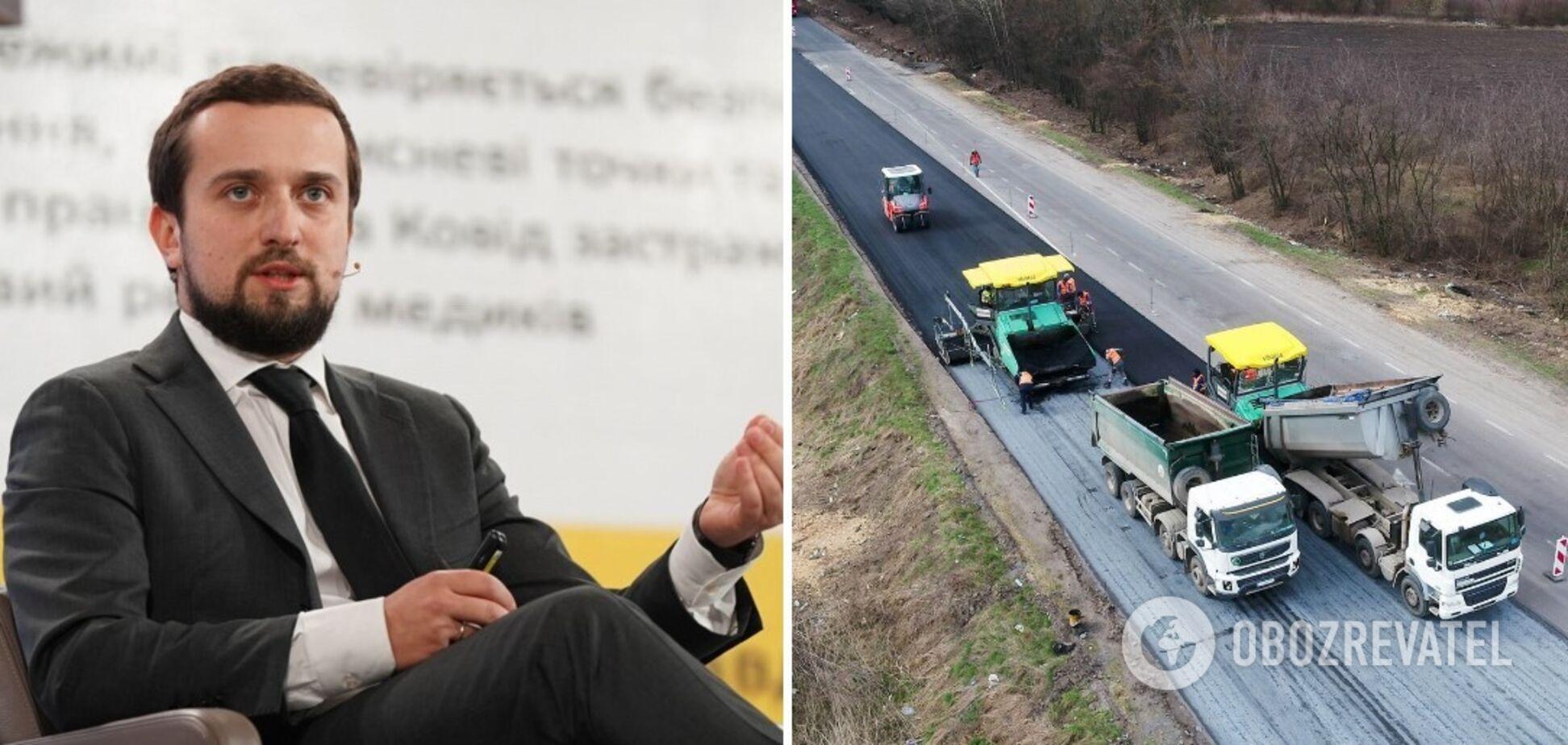 Тимошенко розповів про плани Укравтодору за програмою 'Велике будівництво'