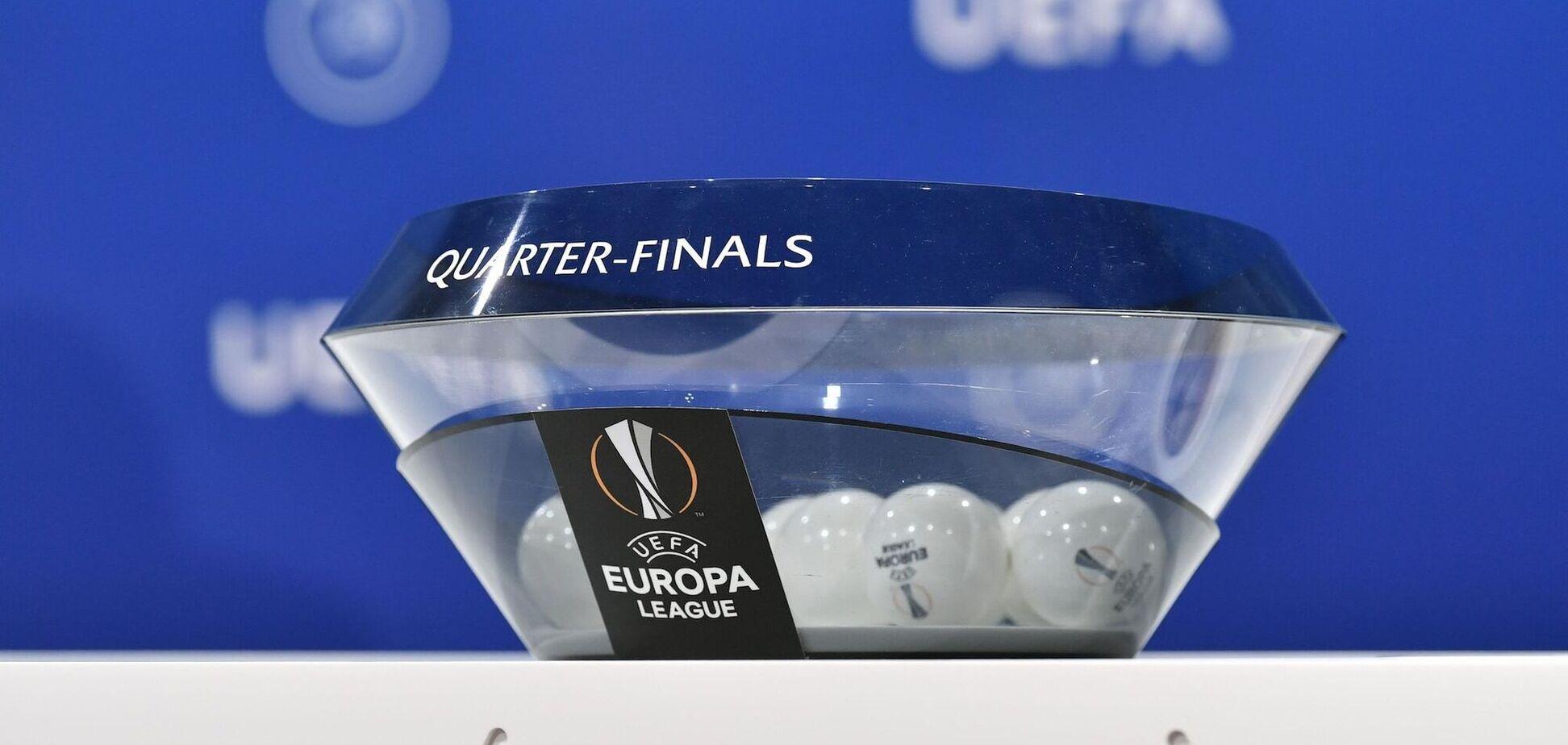 Жеребкування чвертьфіналу Ліги Європи