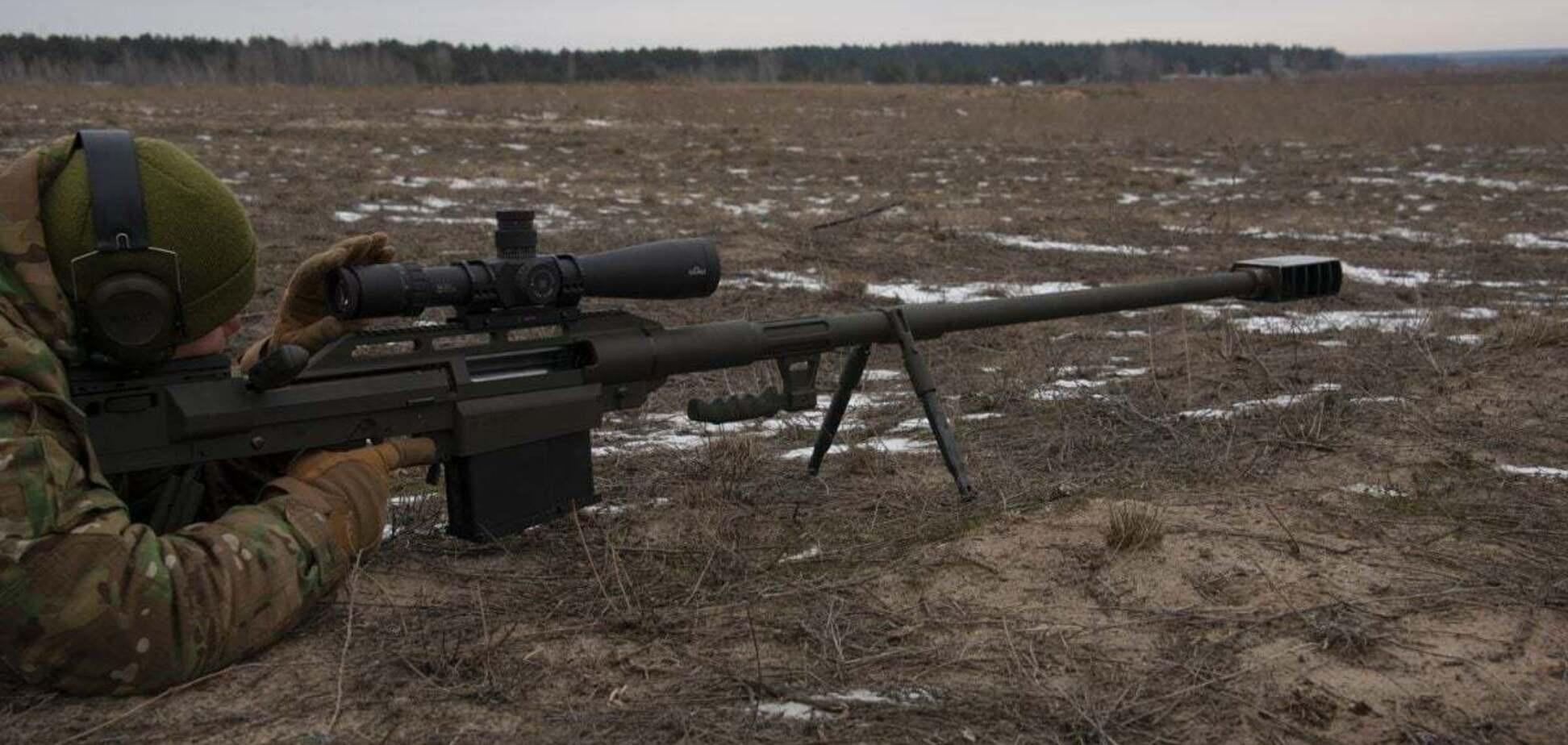 ЗСУ взяли на озброєння нову великокаліберну гвинтівку. Фото та відео