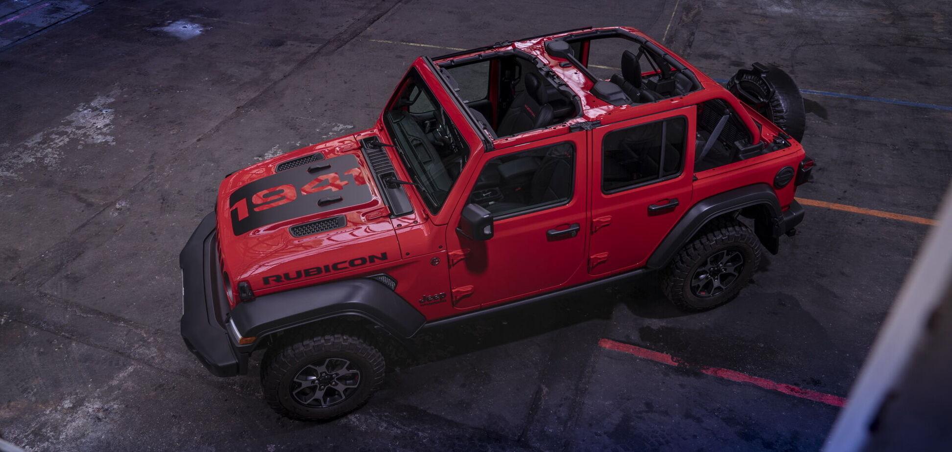 Jeep представил особую версию Wrangler 1941 Limited Edition