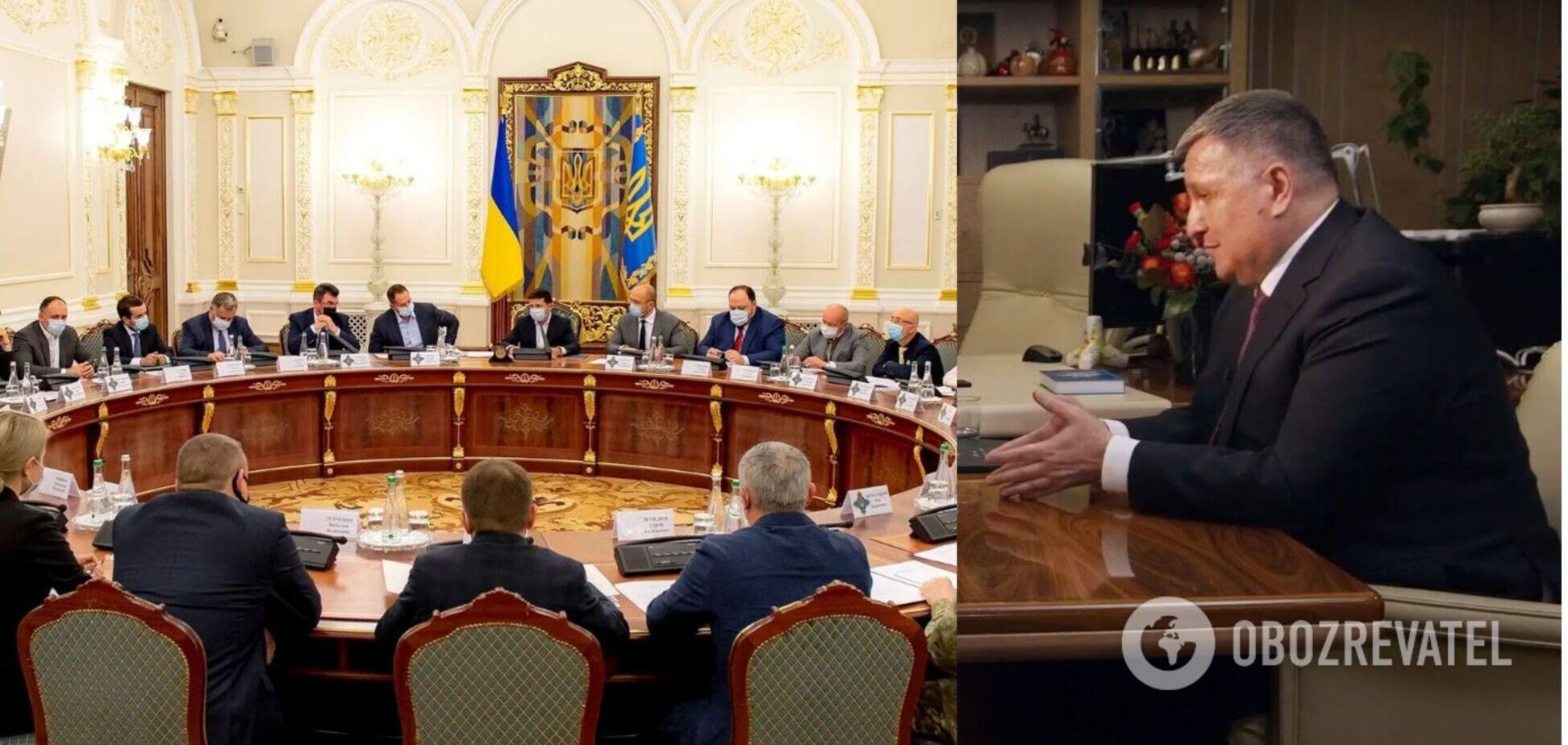 Аваков анонсировал новые санкции СНБО против 'врагов и коллаборантов'