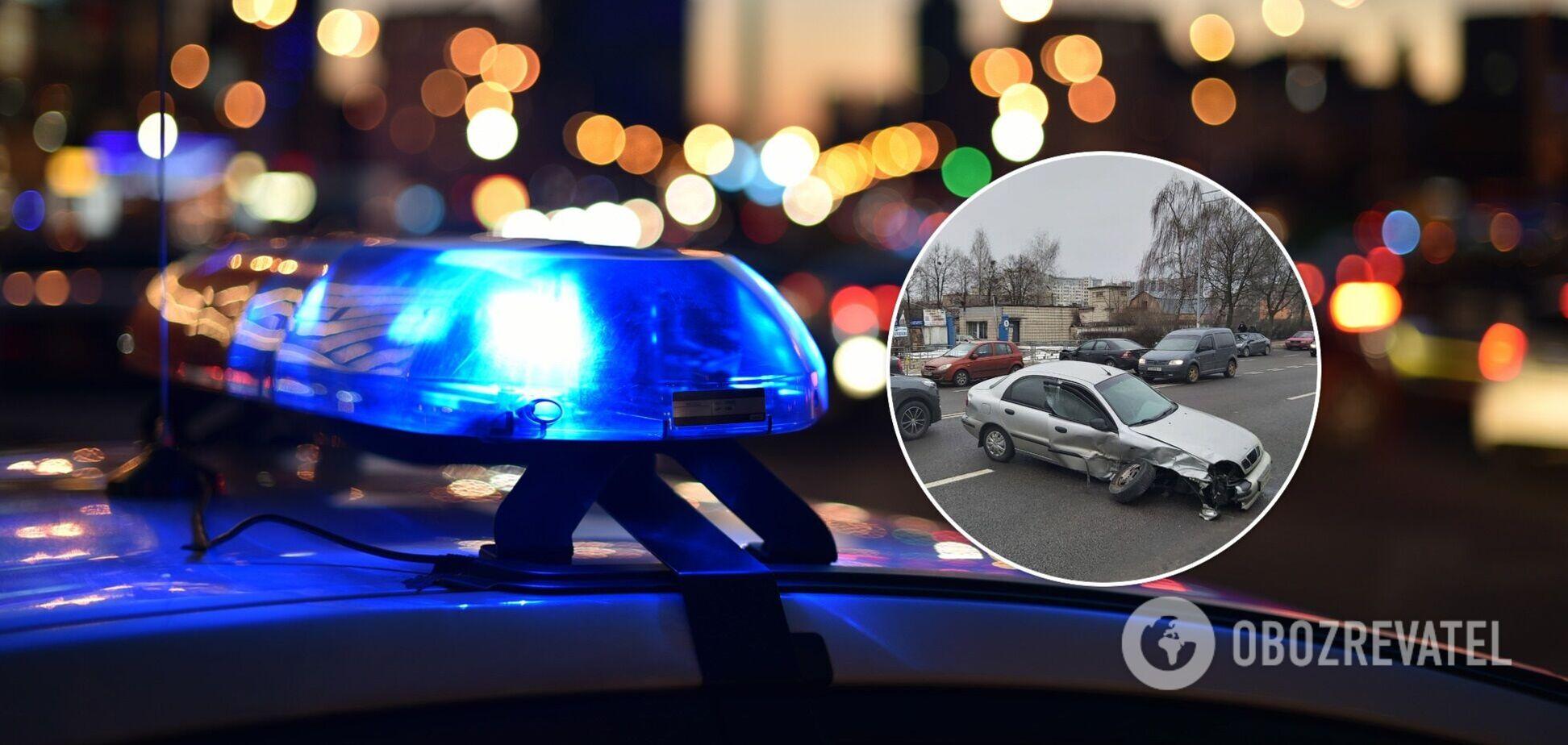 Деталі та причини аварії встановить поліція