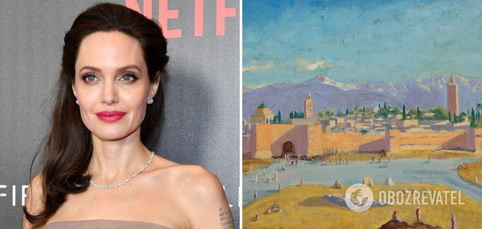 Анджеліна Джолі продала картину Черчилля за 11,5 млн доларів