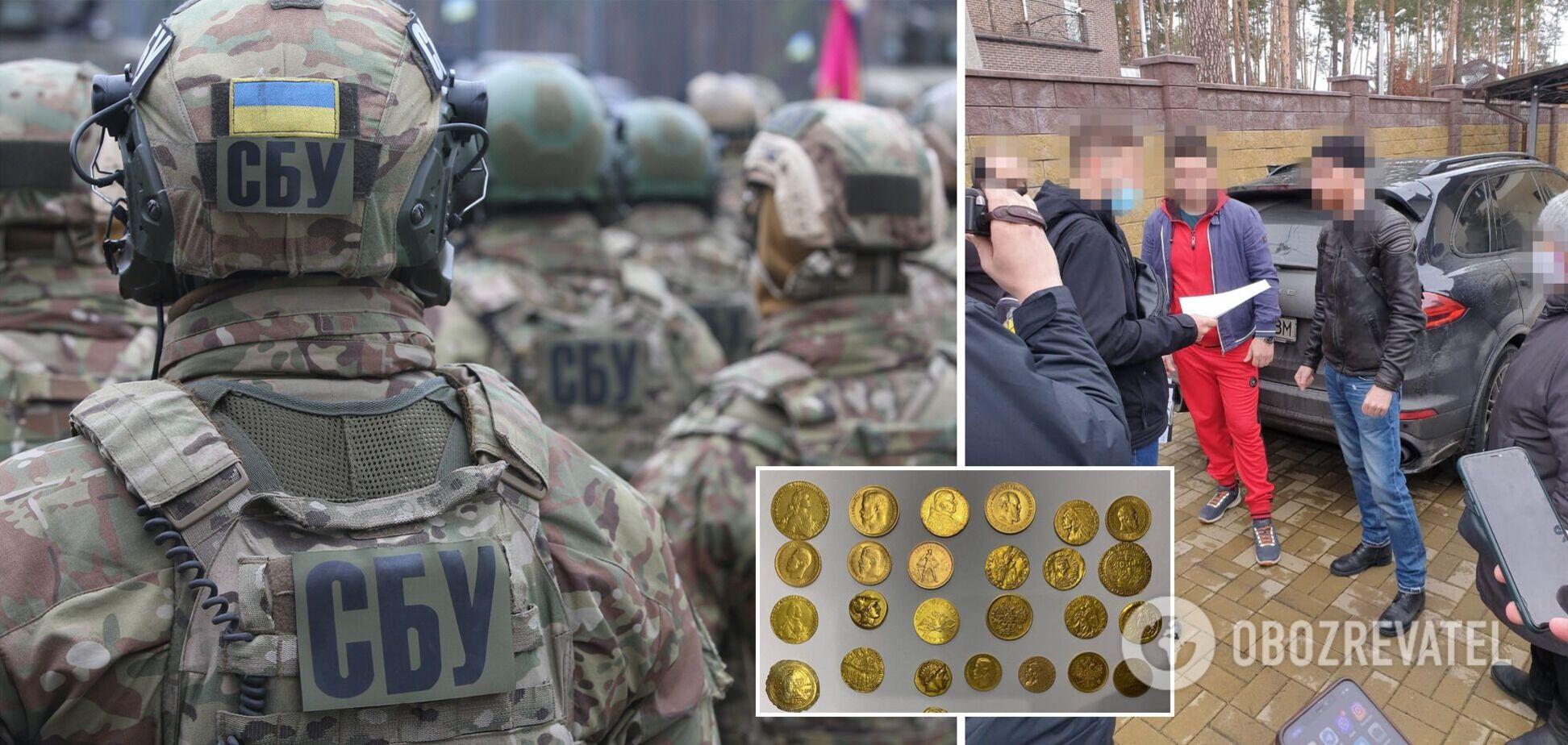 СБУ викрила контрабанду антикваріату до ЄС майже на $1 мільйон. Фото