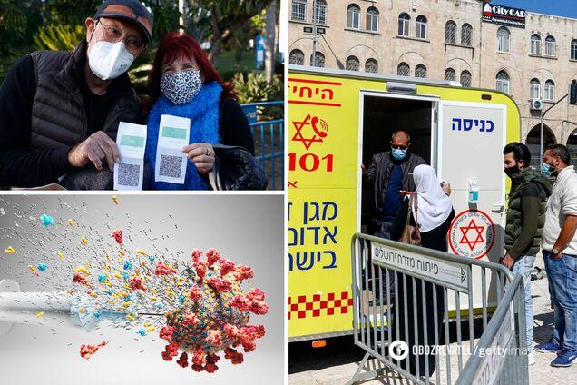 """В Израиле после победы над COVID-19 решили ослабить карантин: какие преимущества у владельцев """"паспортов вакцинации"""""""