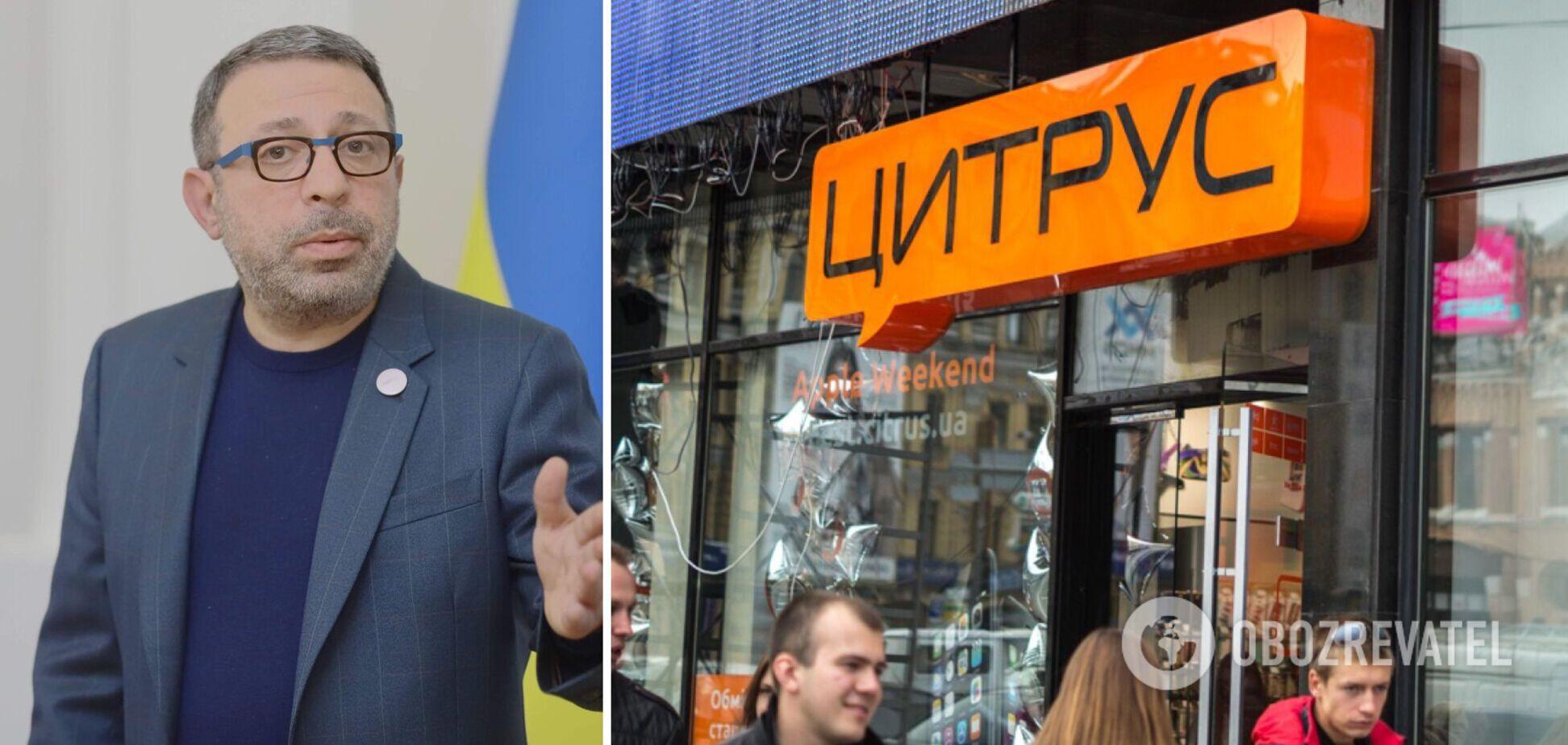 'Цитрус' переїжджає у Дніпро: Корбан розповів, навіщо купив 50% компанії