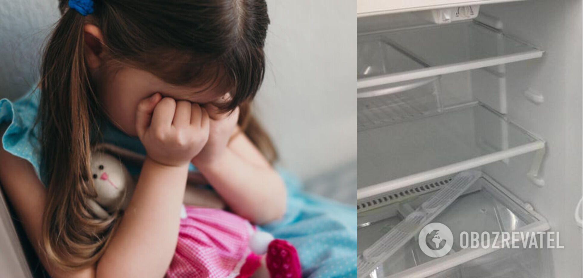 На Одещині жінка більш ніж місяць морила дочку голодом: 3-річна дівчинка почала їсти побілку