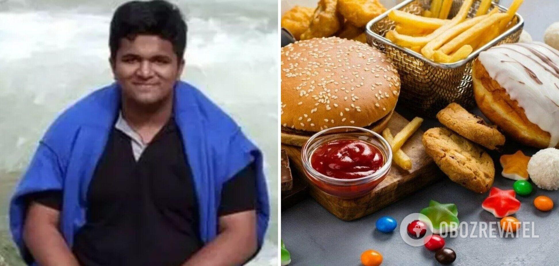 Хлопець скинув 55 кг