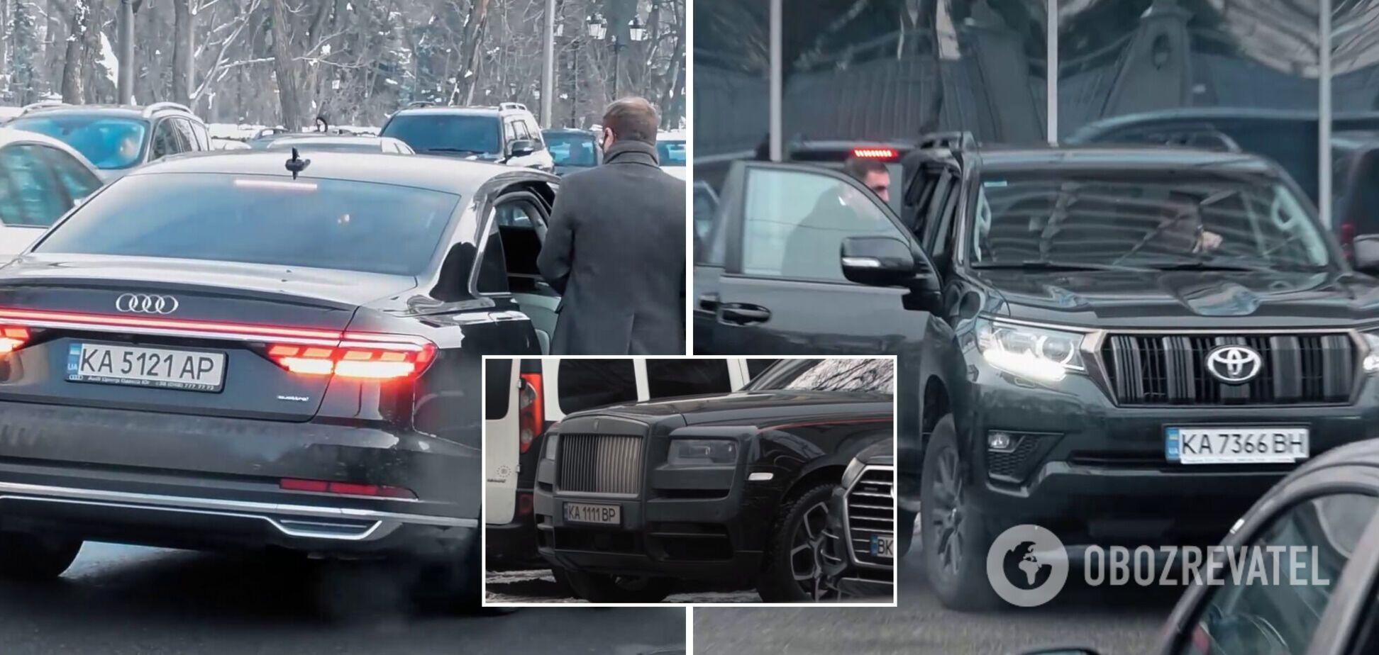 Автомобілі народних депутатів