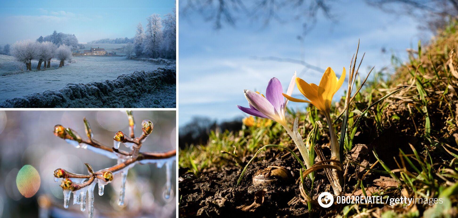 Потеплеет до +15, а затем вернутся холода: синоптик уточнила прогноз погоды в Украине