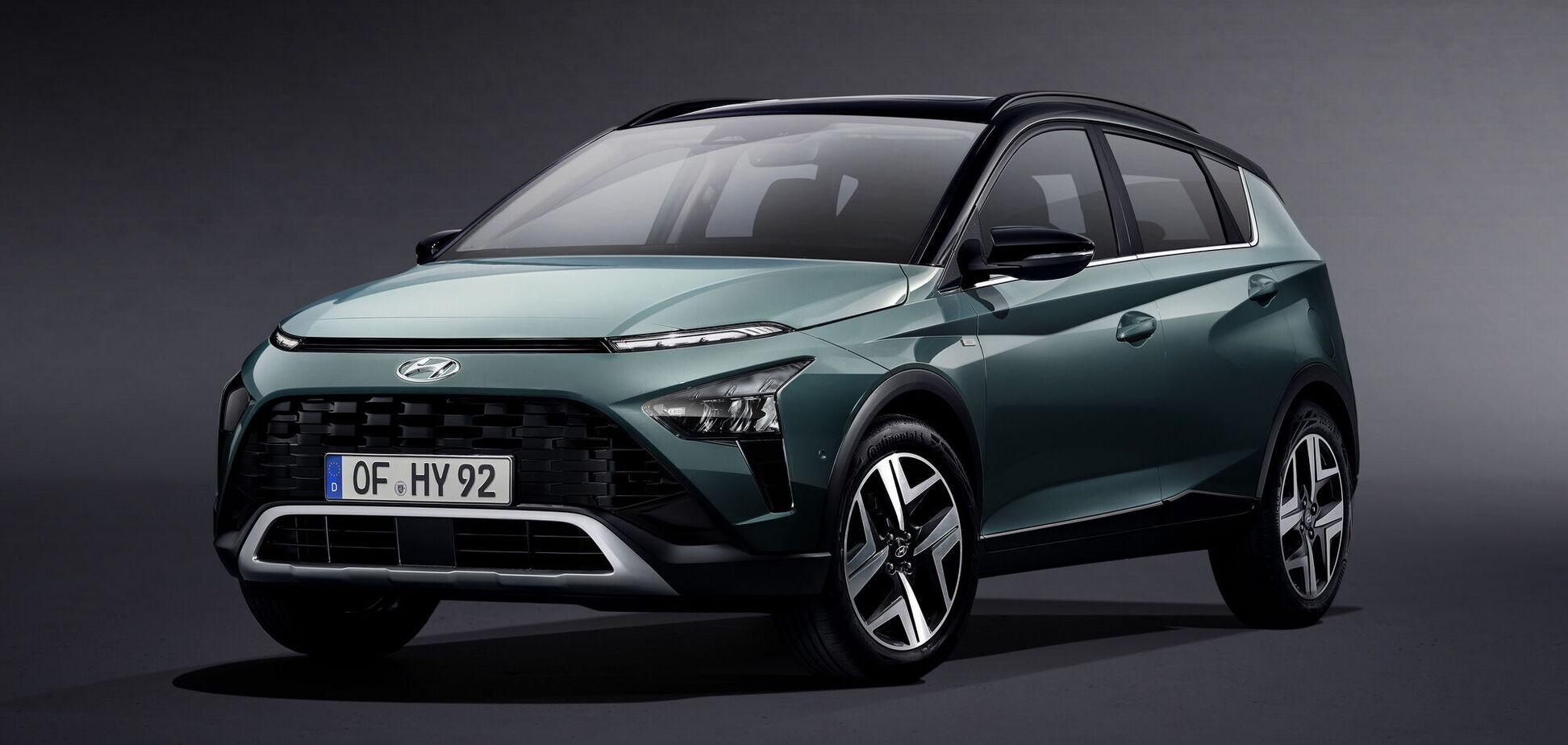 Hyundai офіційно презентував новий кросовер Bayon