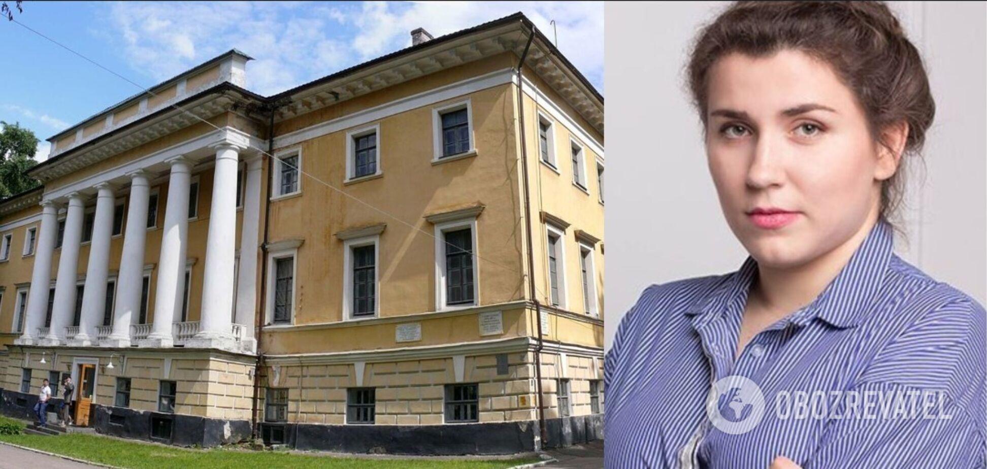 Анна Коваленко раскритиковала решение черниговского музея об отказе от установления терминала