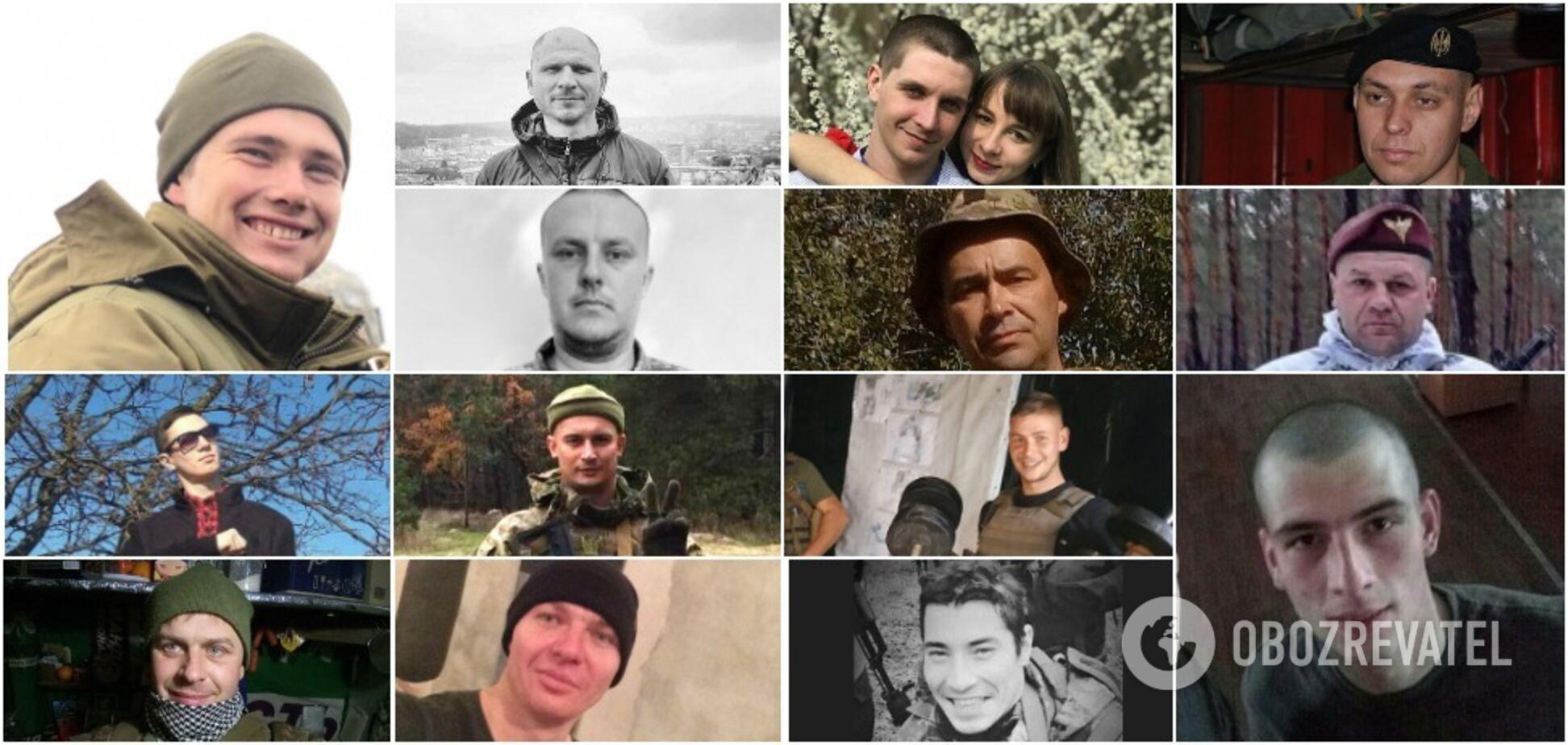 На Донбасі загинули 14 бійців ЗСУ з початку 2021 року. Обличчя та історії героїв