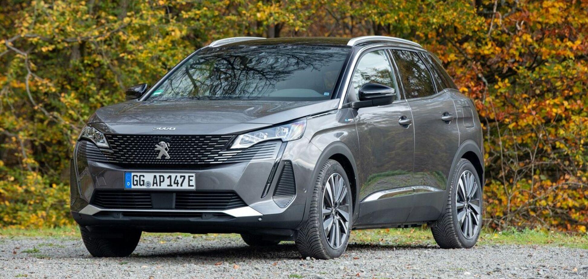 В Україні стартував продаж Peugeot 3008 PHEV 4WD