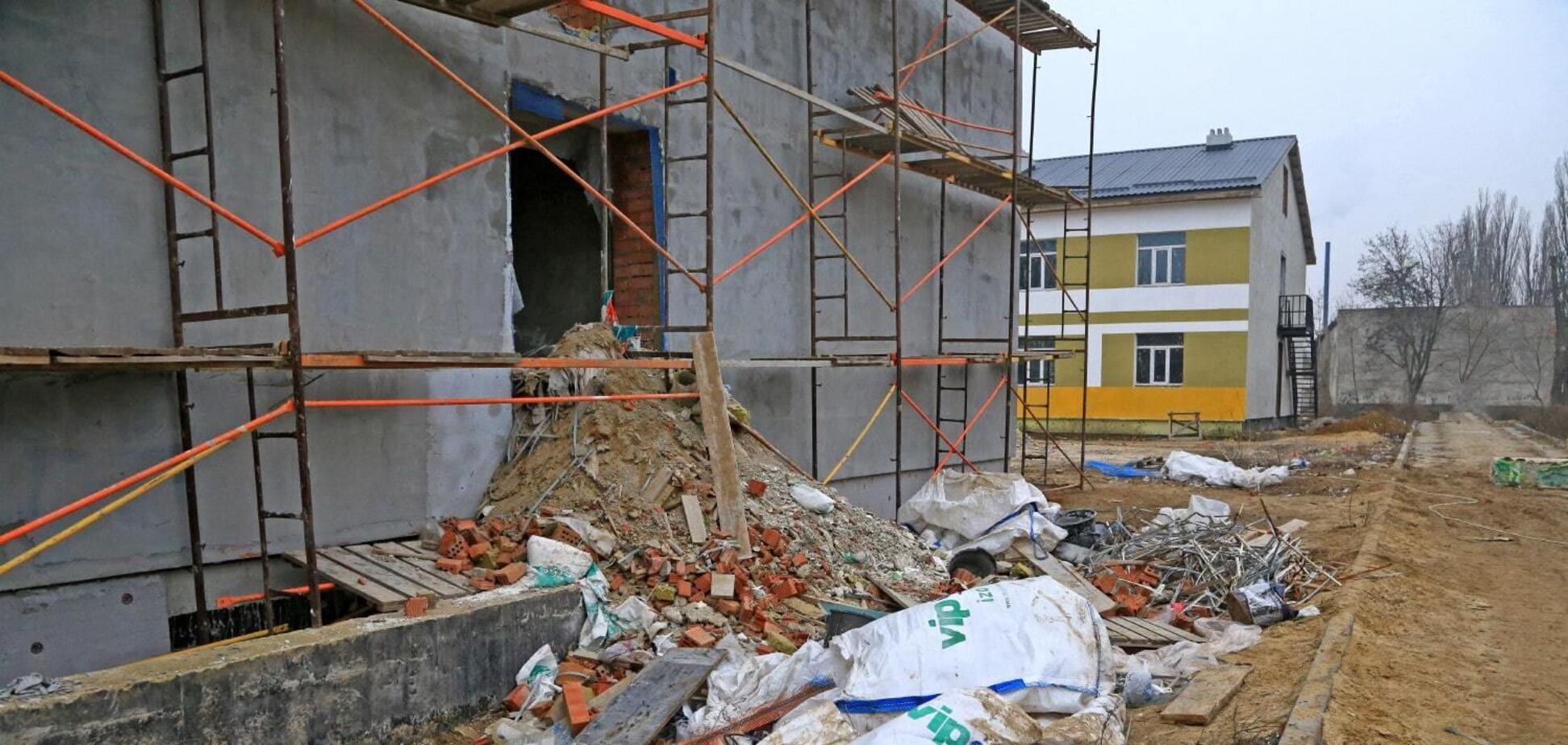 На будівництві казарм в Одеській області вкрали 11 млн гривень: завершено розслідування