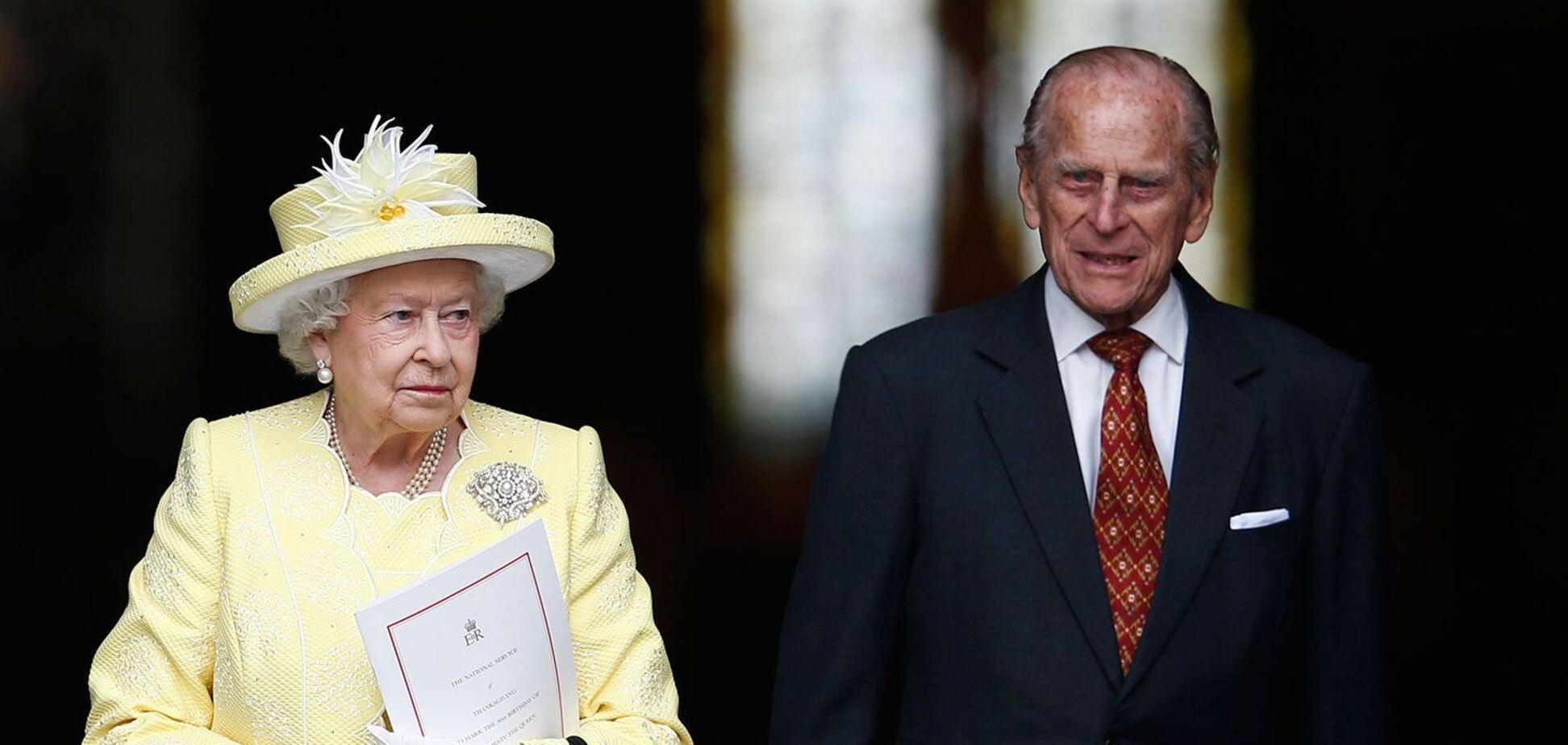 Єлизавета II та принц Філіпп