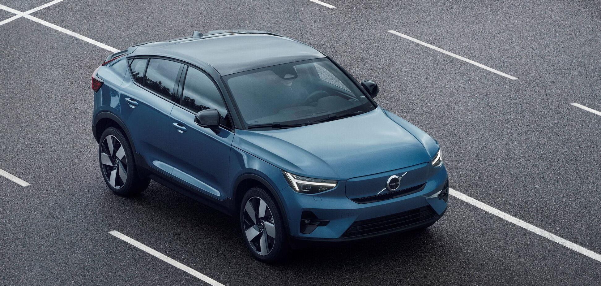 Volvo презентувала новий електромобіль C40 Recharge
