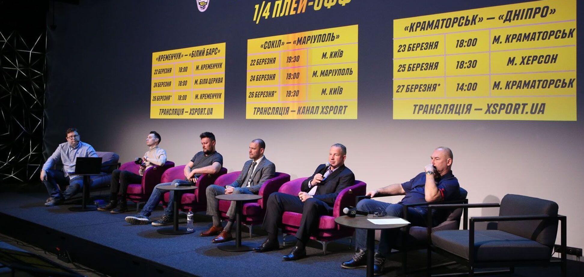 У Києві відбувся перший Експертклуб від УХЛ і Parimatch за підсумками регулярного чемпіонату