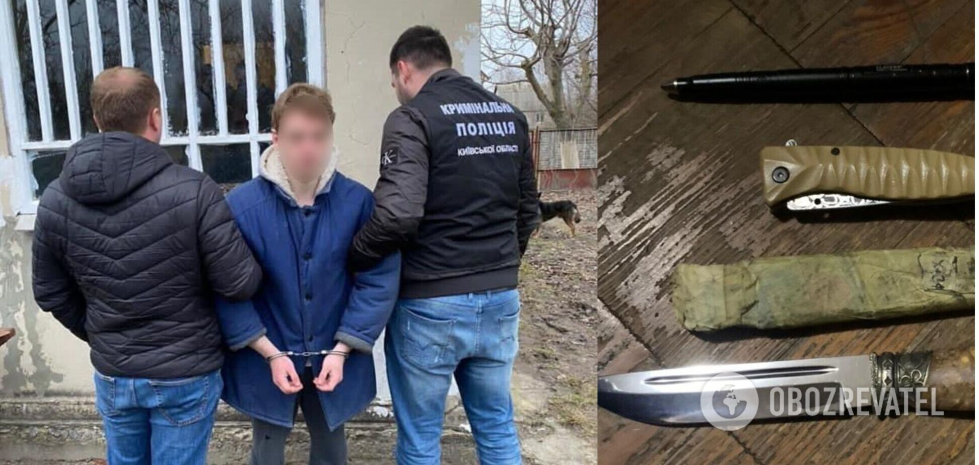 19-летний киевлянин рассказал, зачем убил отца своего друга. Видео 18+
