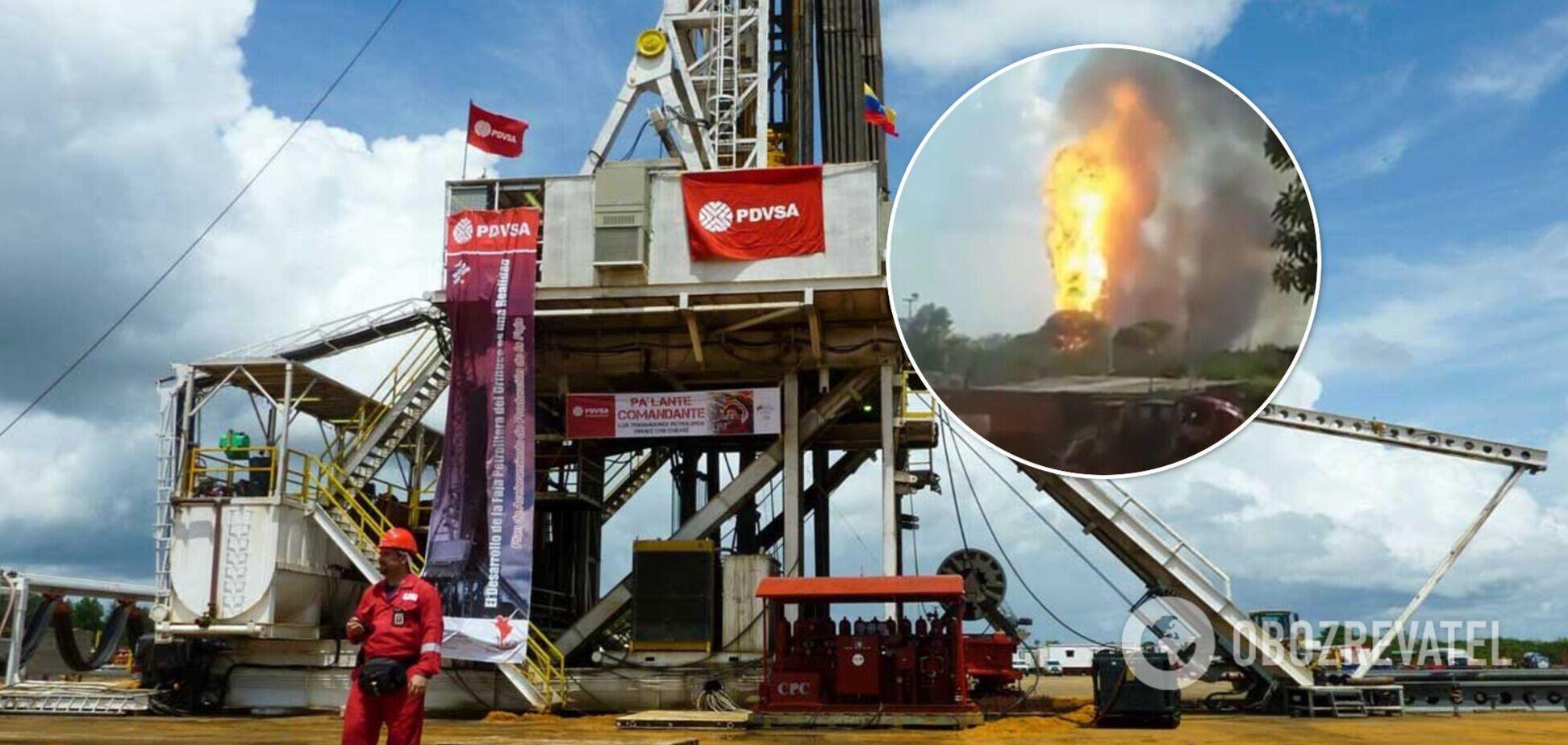 В Венесуэле произошел мощный взрыв на газовом заводе: власти заявили о теракте. Фото и видео