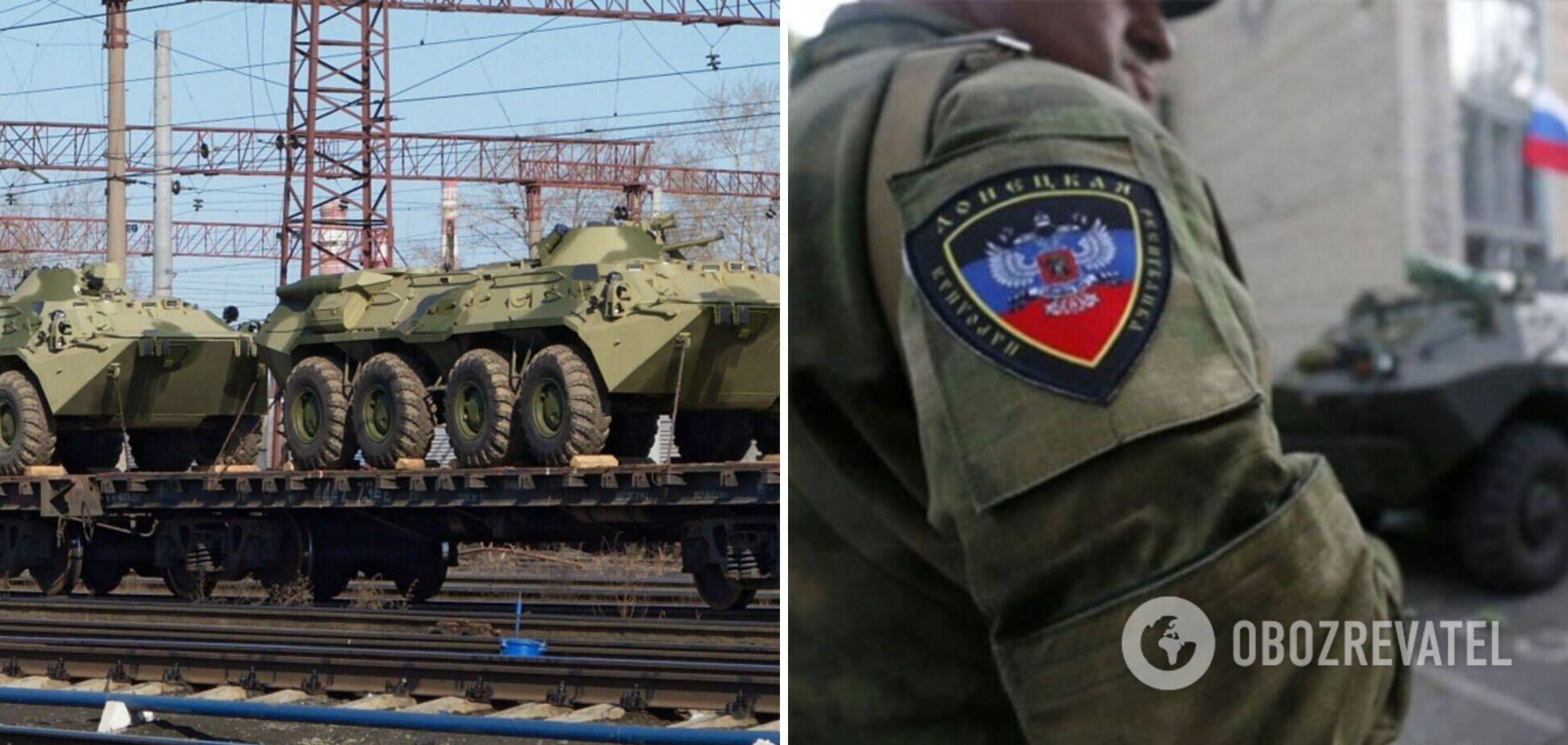Постачання військової техніки з Росії на Донбас