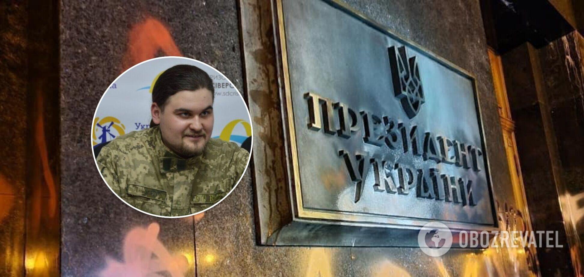 Затриманому за погром під ОП вручили підозру: адвокат розповів деталі