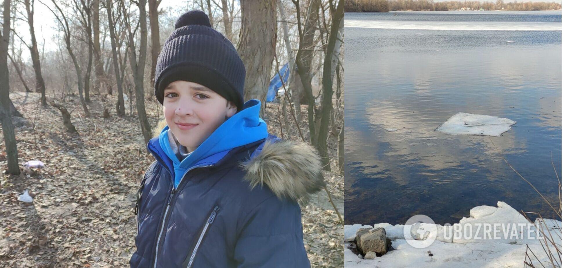 У Києві рибалка врятував хлопчика на крижині за допомогою спінінга. Відео