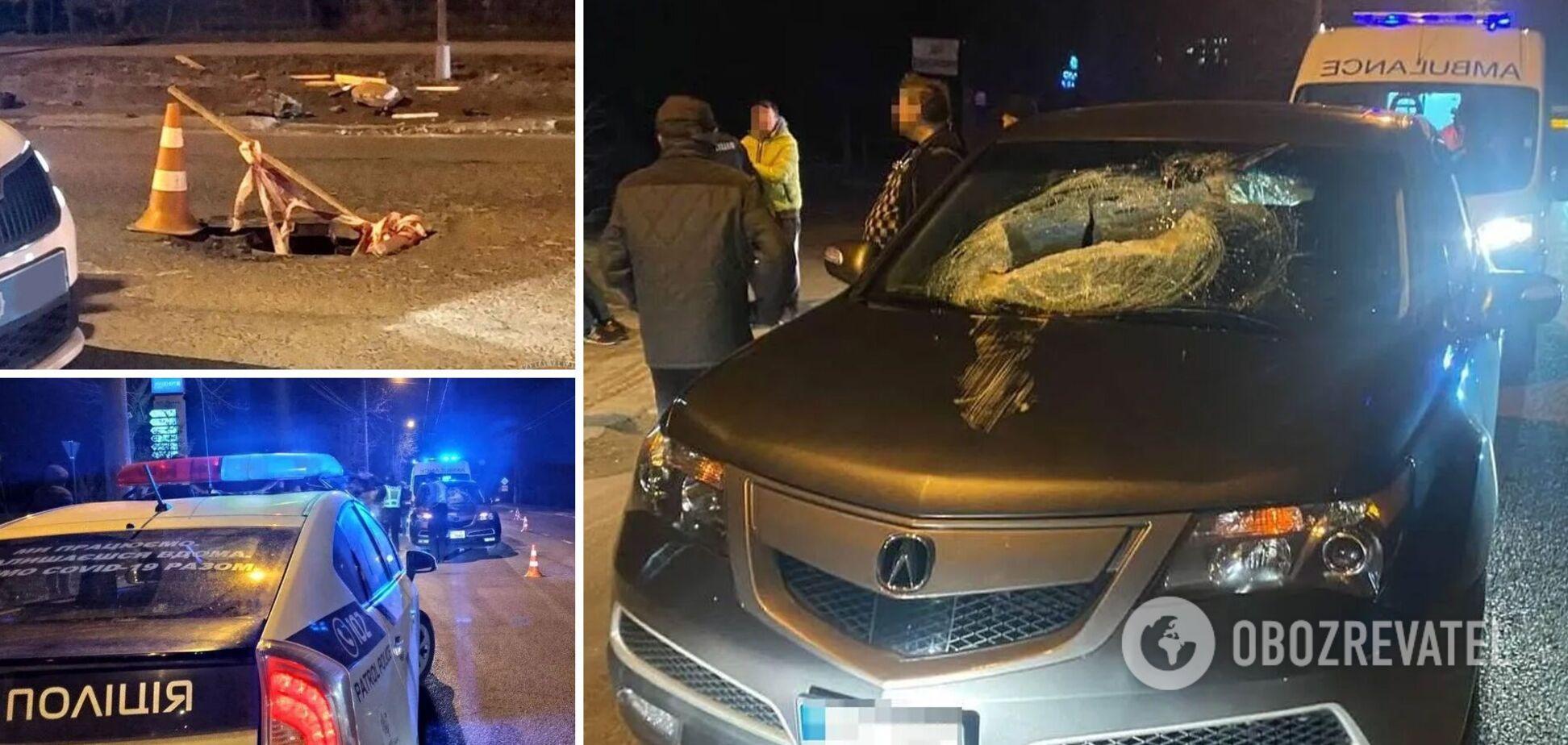 Крышка люка попала в авто и убила 10-летнего ребенка: подробности трагедии во Львове