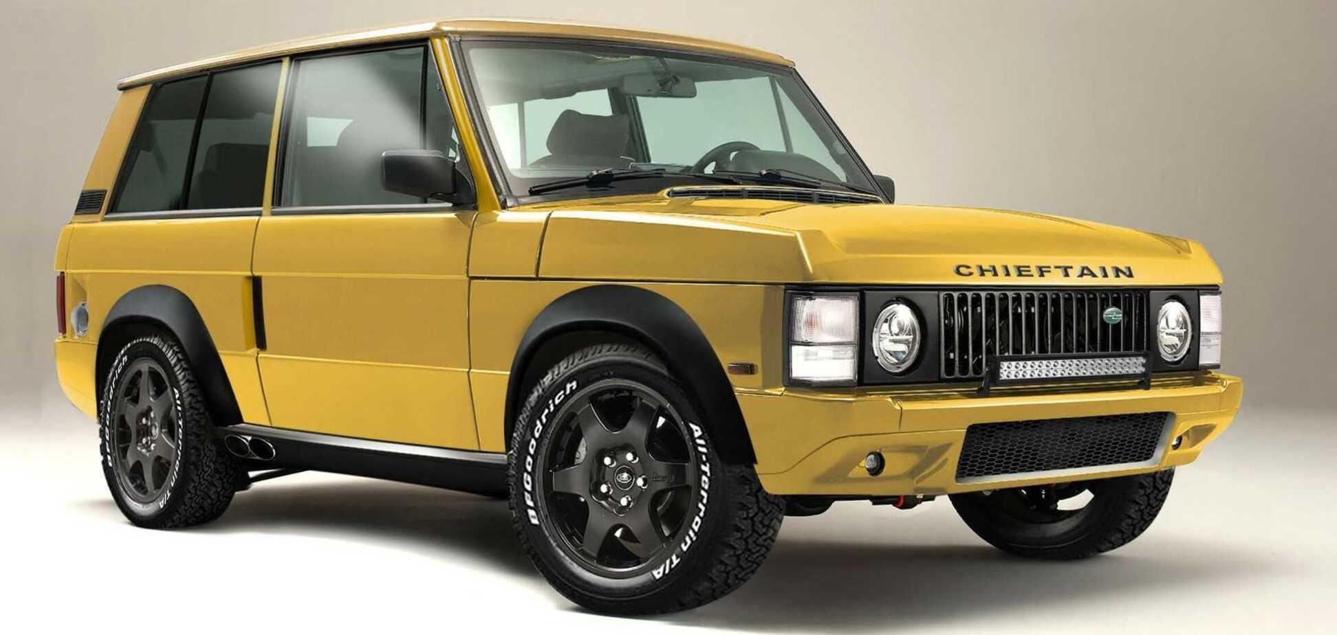 Британцы из Jensen показали рестомод на базе Range Rover