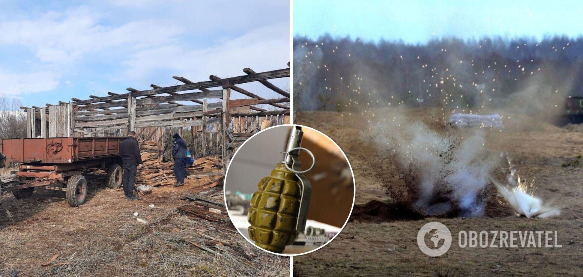 На Луганщине гражданский подорвался на гранате