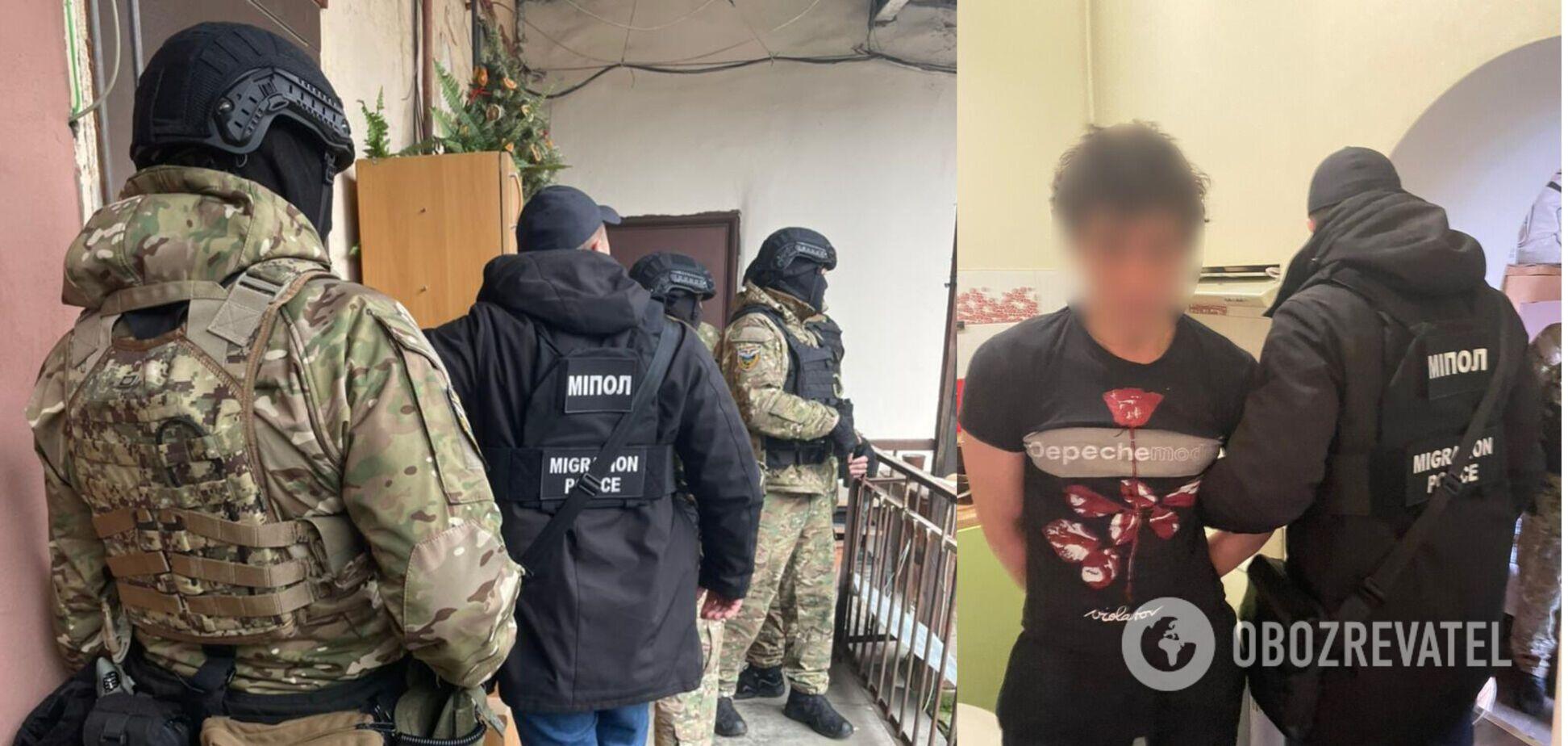 В Одесі затримали посланця 'злодія в законі' з Росії. Відео