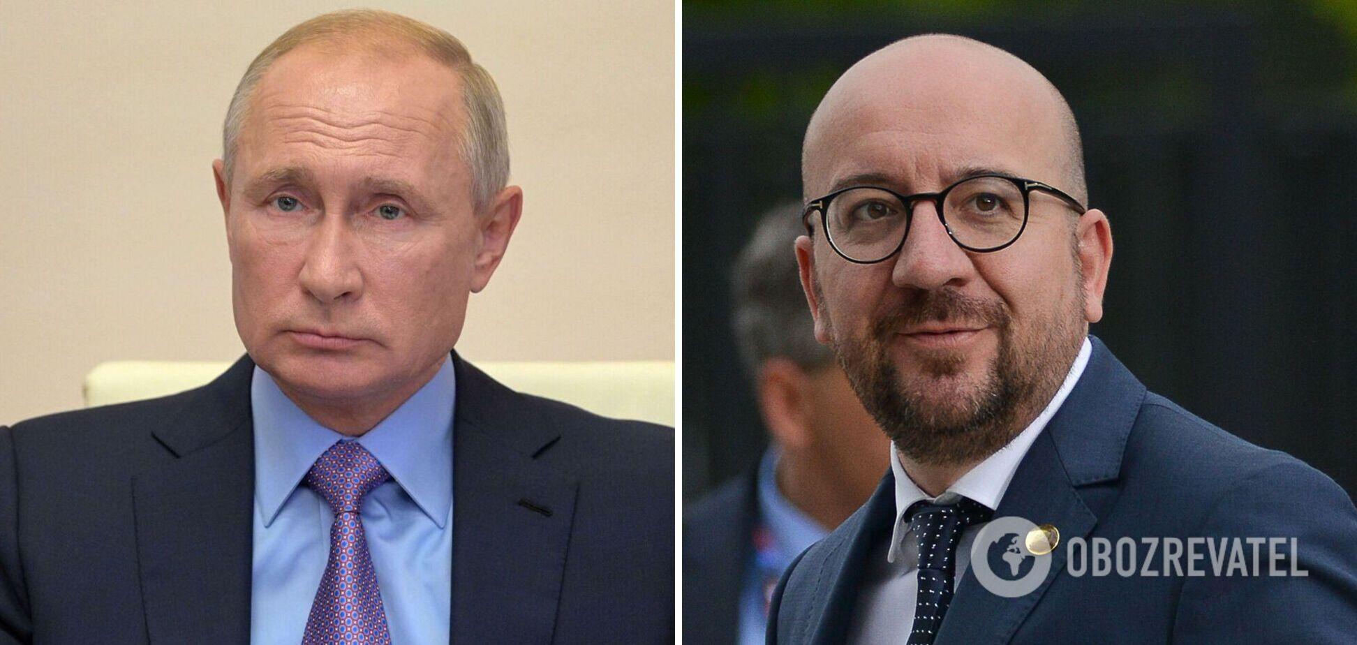 Президент Євроради нагадав Путіну про зобов'язання щодо України