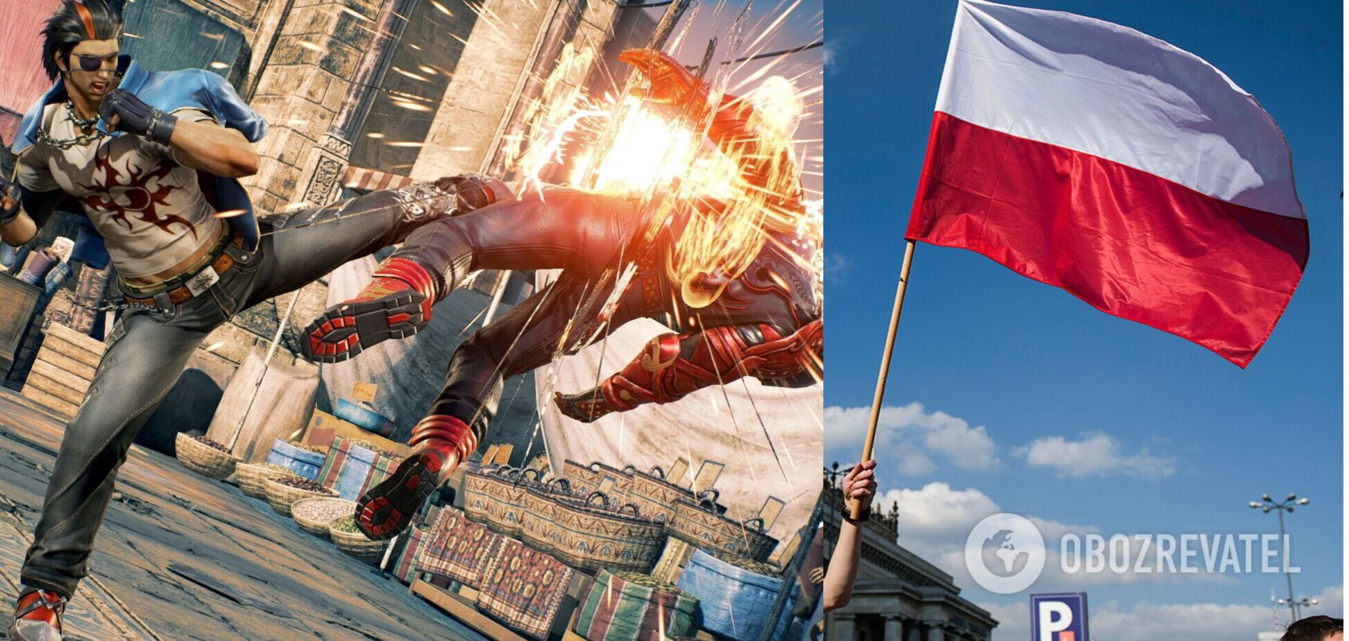'Премьер-министр' Польши стал бойцом в компьютерной игре. Видео