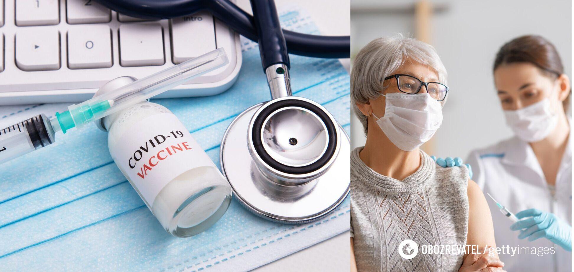 В Україні стартує новий етап вакцинації: У МОЗ пояснили, хто отримає щеплення від COVID-19