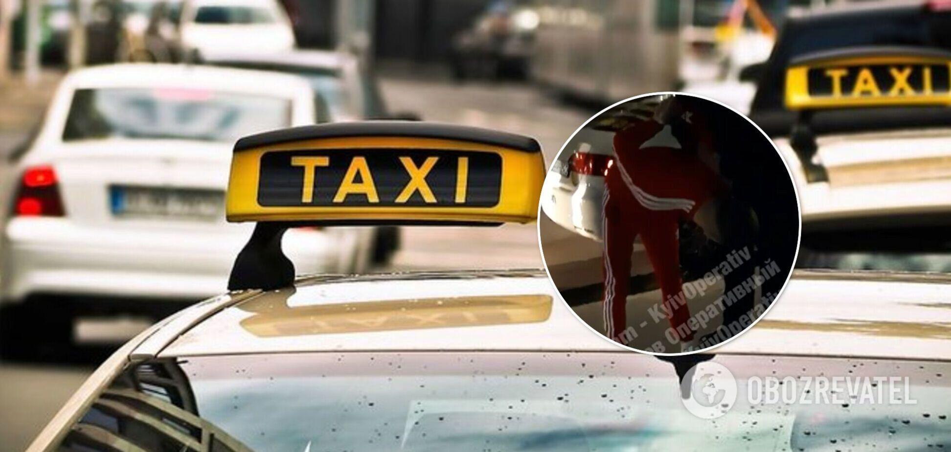 Таксі Уклон: водій розбив машину в Києві