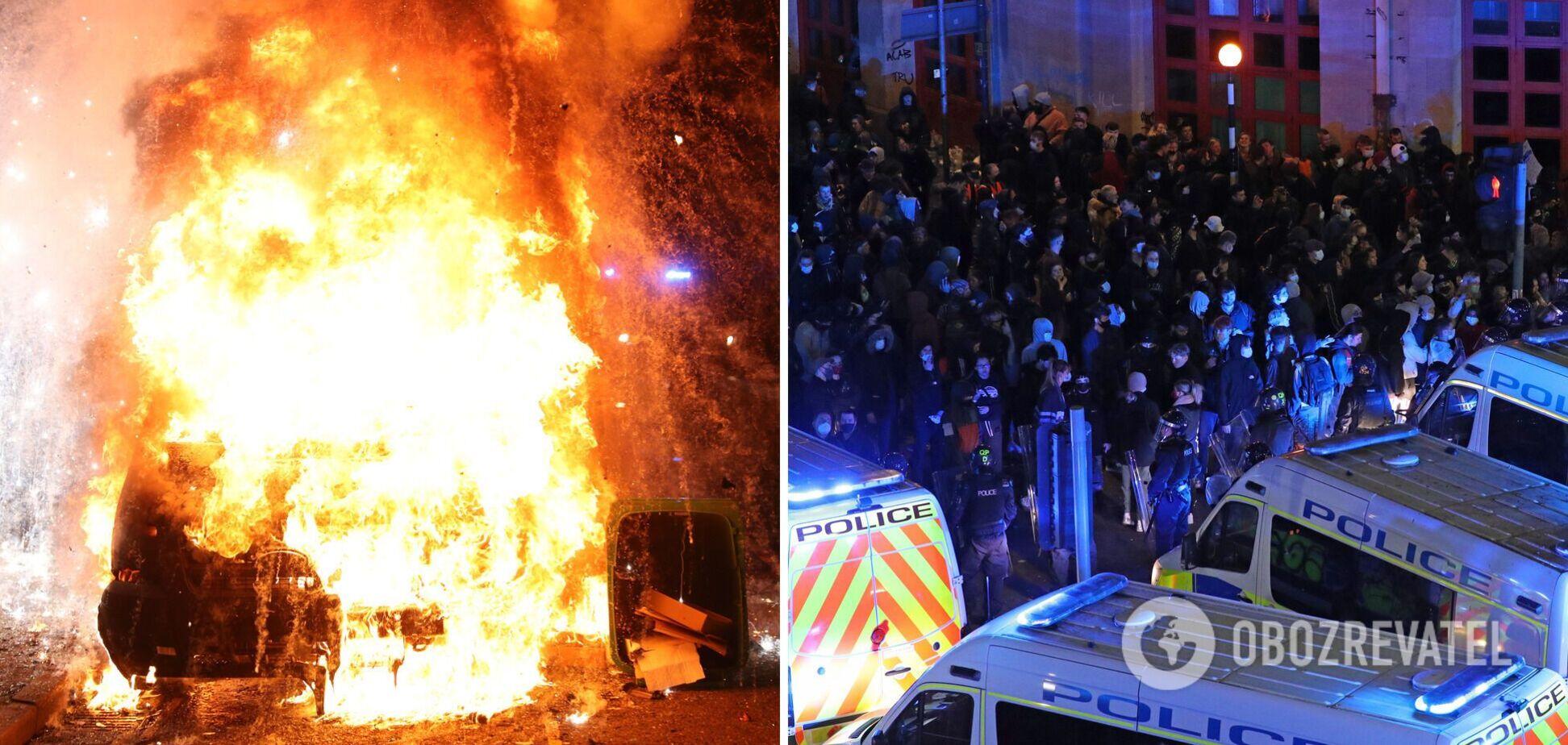 Протести в Англії