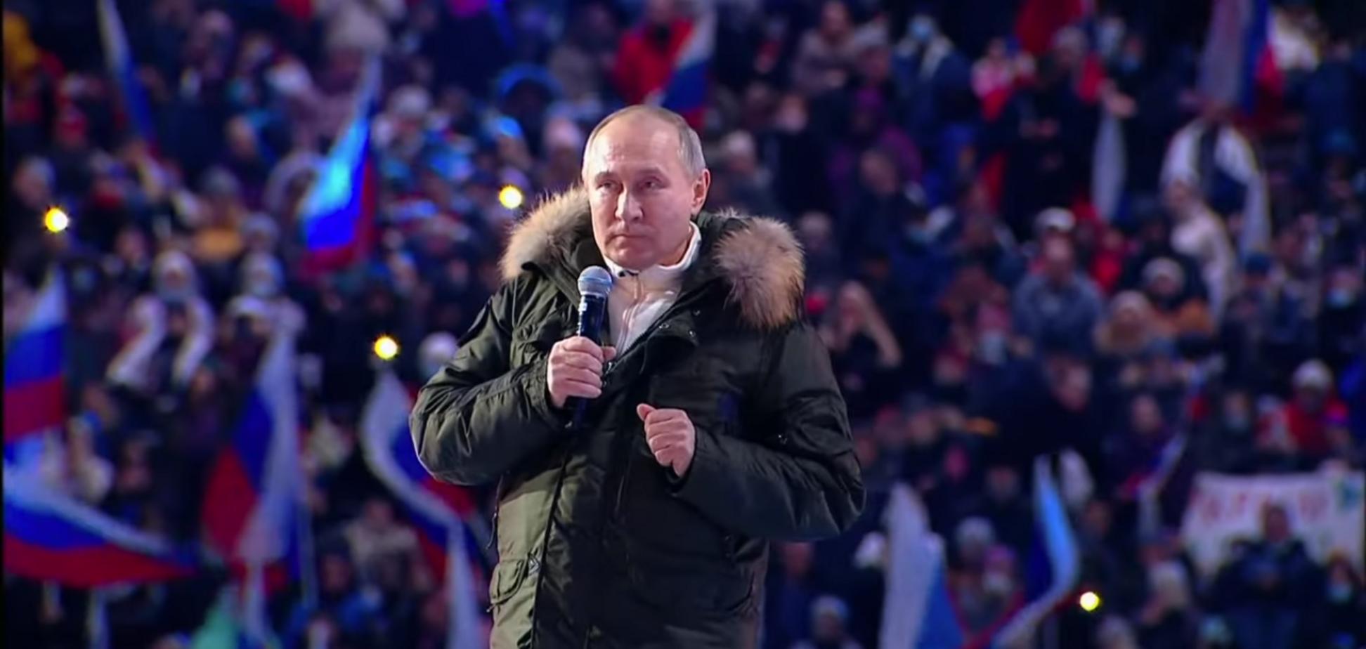 Путин готовит насилие, считает Леонид Гозман