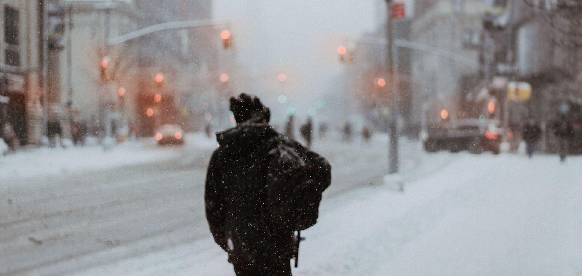 Снег накроет всю Украину: прогноз погоды на вторник