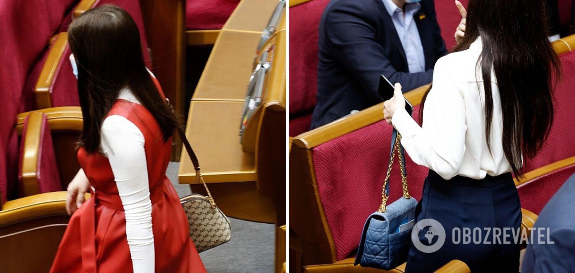 ЗМІ показали елітні сумки нардепок і розкрили вартість. Фото