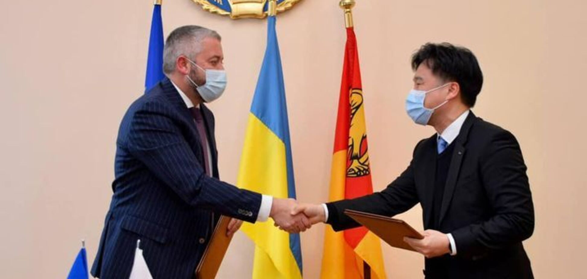 На Кировоградщину идут корейские инвестиции: подписан меморандум