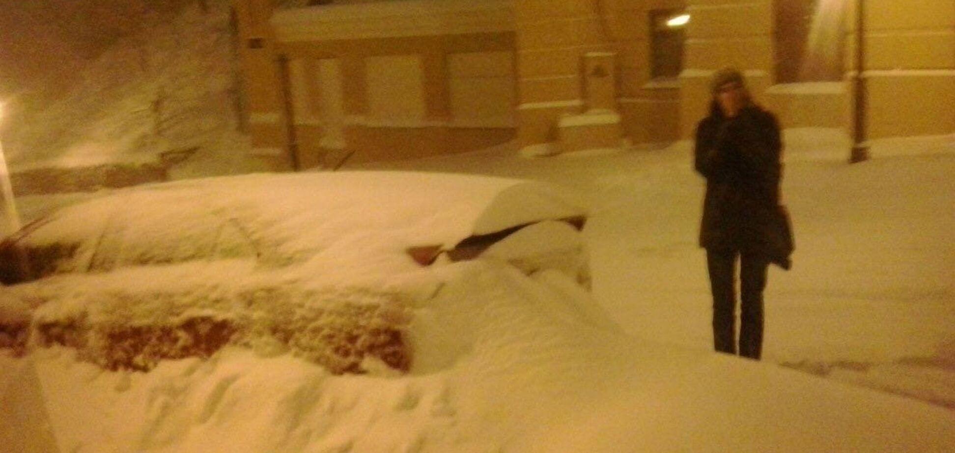 Як Київ пережив снігопад століття в березні 2013 року. Фото