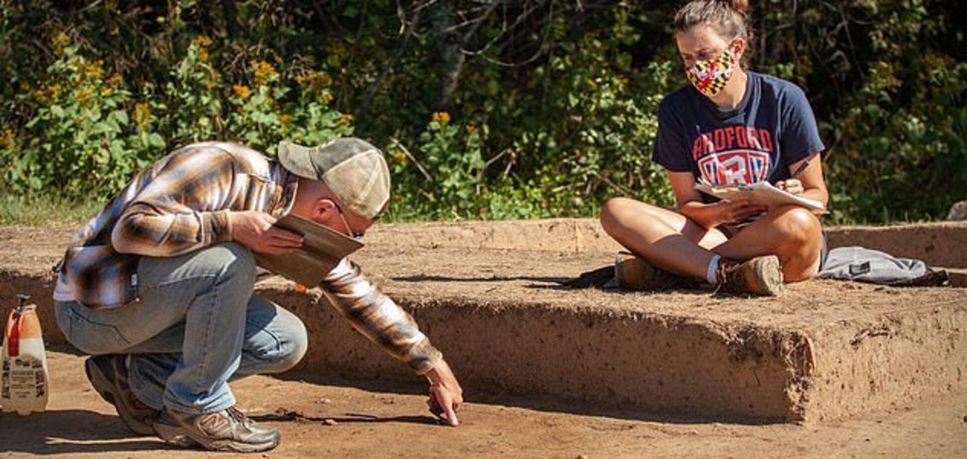 Археологи нашли одно из древнейших английских поселений в США. Фото