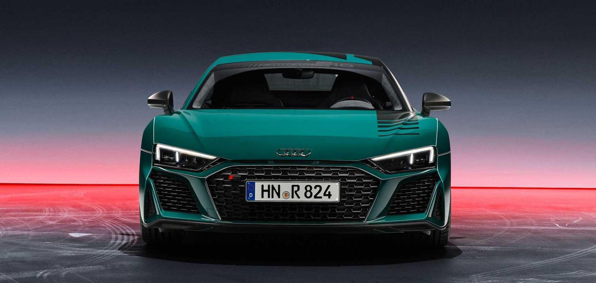 Audi присвятила купе R8 перемогам на Нюрбургринзі