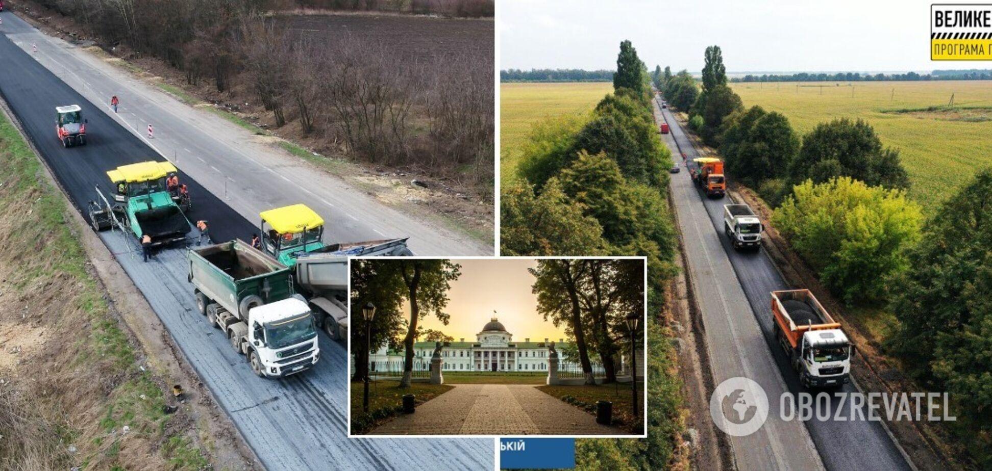У Чернігівській області реалізують 34 проєкти з ремонту доріг загального користування, акцент зроблять на туристичних маршрутах