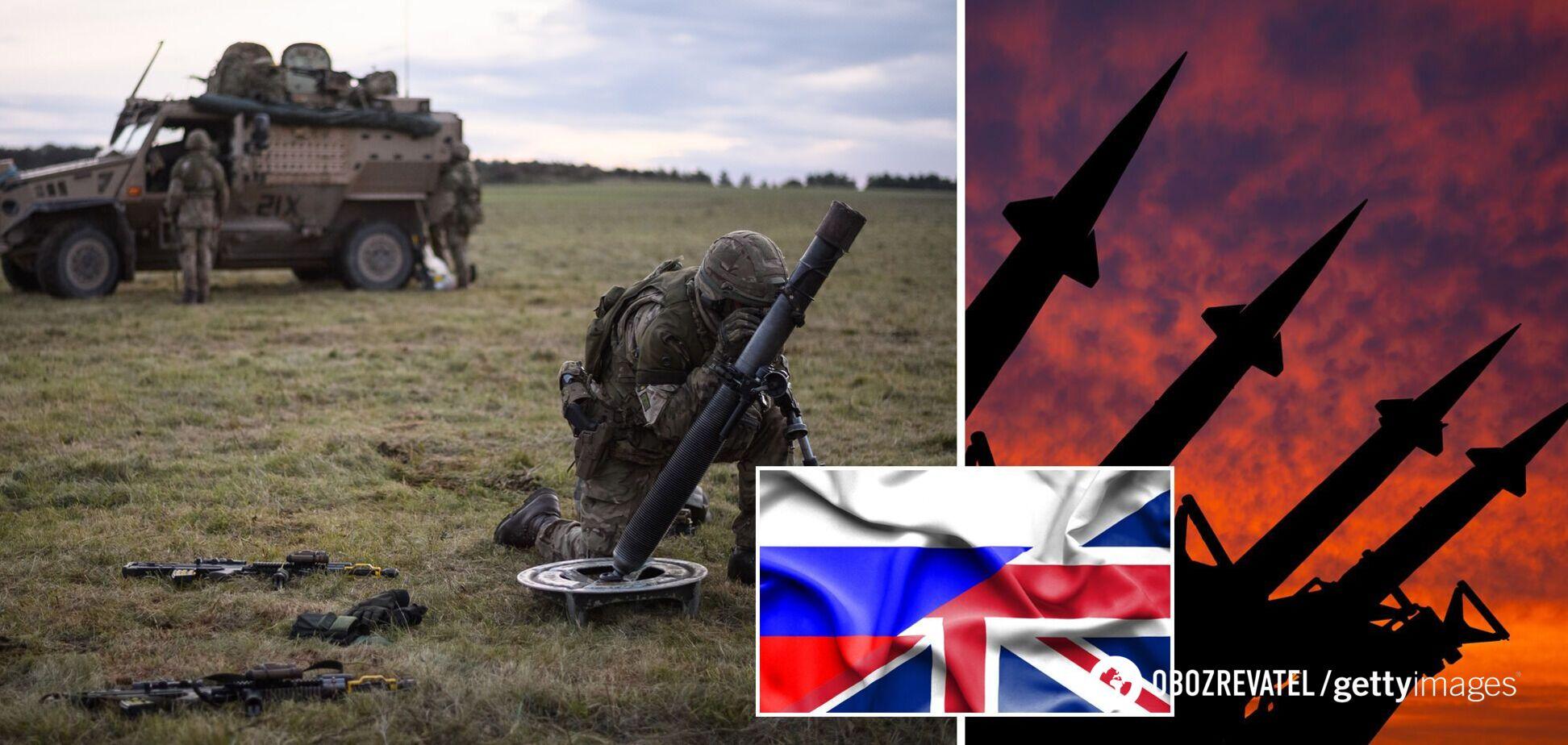 У Британії назвали Росію найбільшою загрозою безпеці в Європі