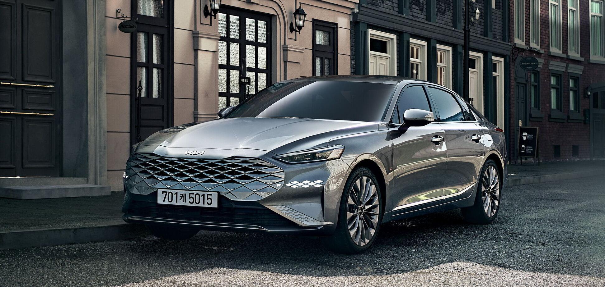 Kia розкрила характеристики флагманського седана К8