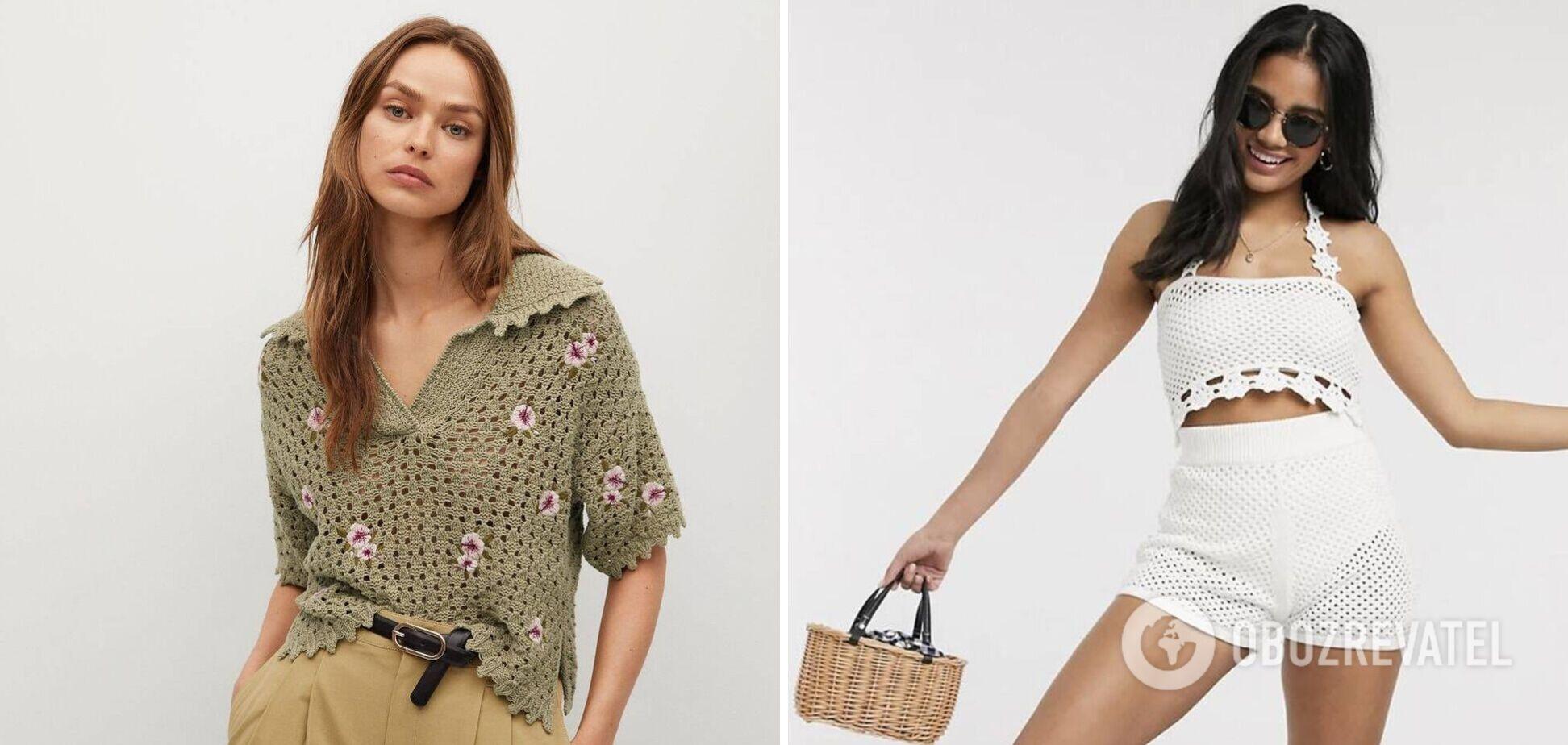 В моду возвращается 'бабушкин гардероб': с чем носить
