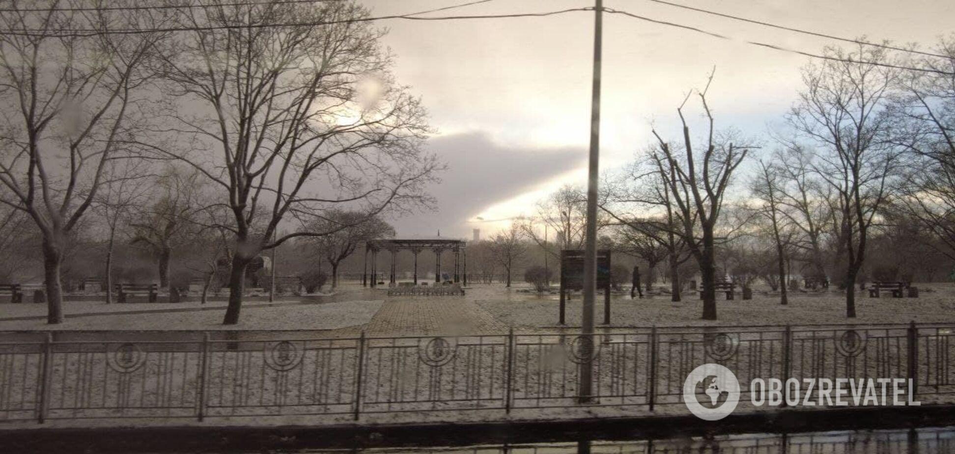 Згадуємо 2013 рік: Київ накрили сильні снігопади