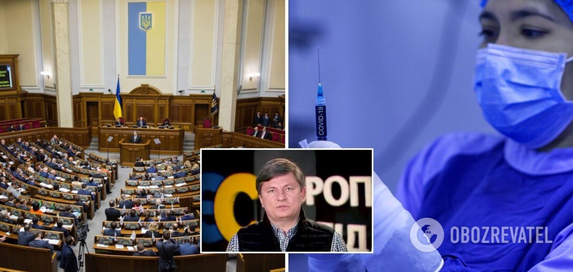 'Європейська Солідарність' вимагає на позачерговому засіданні розглянути боротьбу з коронавірусом